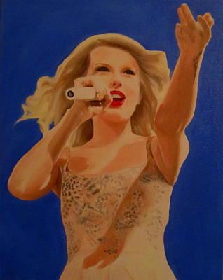 Taylor Swift Painting - Taylor Swift by Kristin Wetzel