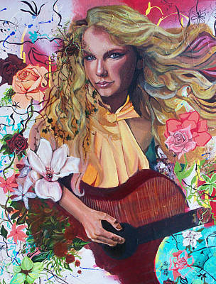 Taylor Swift Painting - Taylor Swift by Lauren Penha