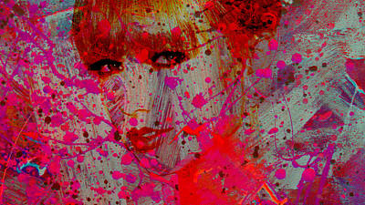 Taylor Swift Mixed Media - Taylor Swift Life Is A Canvas by Brian Reaves