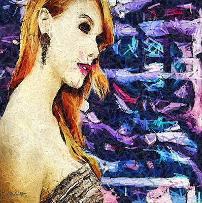 Taylor Swift Painting - Taylor Swift - Loreli by Sir Josef Social Critic - ART