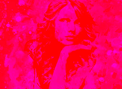 Taylor Swift Painting - Taylor Swift Paint Splatter 2g by Brian Reaves