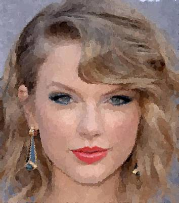 Taylor Swift Painting - Taylor Swift by Samuel Majcen