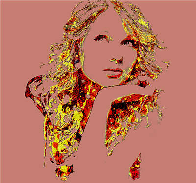 Taylor Swift Mixed Media - Taylor Swift State Of Grace 8 by Brian Reaves