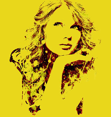 Taylor Swift Mixed Media - Taylor Swift State Of Grace 9 by Brian Reaves