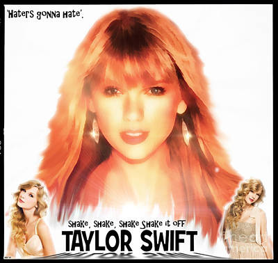Taylor Swift Digital Art - Taylor Swift - Stunning by Robert Radmore