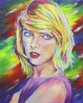 Taylor Swift Painting - Taylor Swift by Taylor Wise
