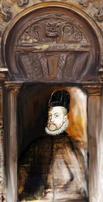 Spain Painting - Tcm Spanish 159 4 by Mawra Tahreem