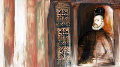 Spain Painting - Tcm Spanish 159 5 by Mawra Tahreem