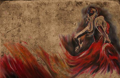 Spain Painting - Tcm Spanish  by Mawra Tahreem