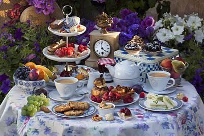Tea For Two Print by © Simon Kayne