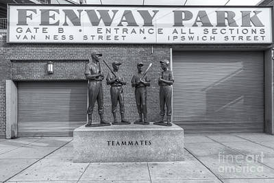 Boston Photograph - Teammates II by Clarence Holmes