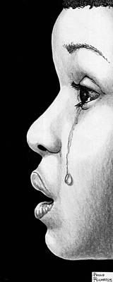 Tears Drawing - Tears by Paulo Ricardo Almeida