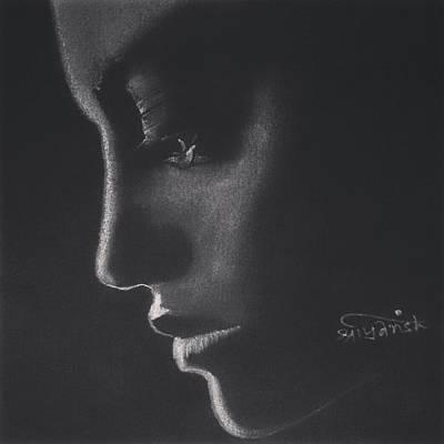 Tears Drawing - Tears by Shriyansh Dwivedi