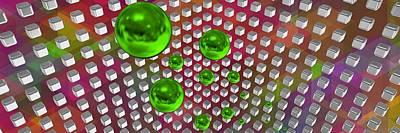 Abstract Composition Digital Art - Tech 3-2g9 by Alberto RuiZ