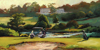Chatham Painting - Tee Time by Sue Dragoo Lembo