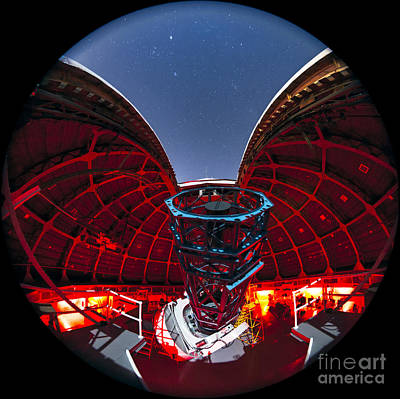 Telescope At Mount Wilson Observatory Print by Babak Tafreshi