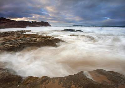Fleurieu Peninsula Photograph - Tempestuous Sea by Mike  Dawson