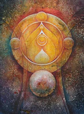 Temple #1 Original by Ellen Starr