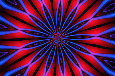 Op Art Digital Art - Ten Minute Art 4 by David Lane