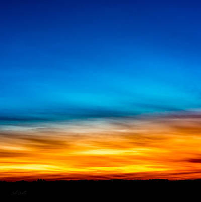 Ten Past Sunset Print by Bob Orsillo