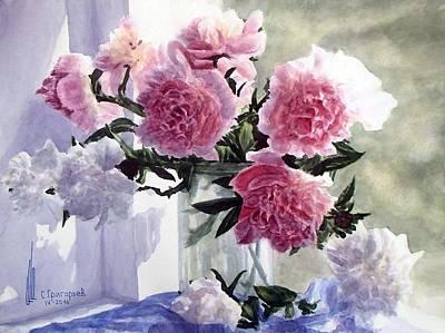 Pi Painting - Tender Aroma Of Beginning Of Summer by Sergii Grygoriev