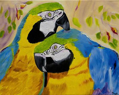 Tender Birdsong  Original by Meryl Goudey