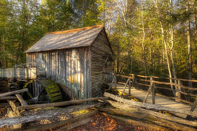 Tennessee Mill Print by Mike Eingle