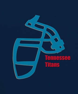 Tennessee Photograph - Tennessee Titans Retro by Joe Hamilton
