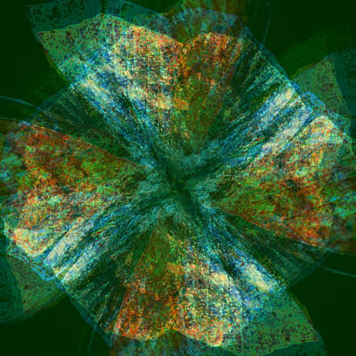 Abstract Digital Art - Terra by Seattledaze Art