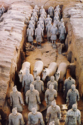 Photograph - Terracotta Army by Heiko Koehrer-Wagner