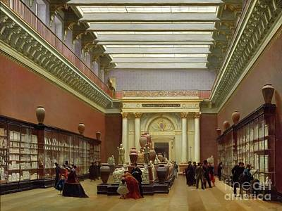 Louvre Painting - Terracotta Room At The Louvre by MotionAge Designs