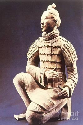 Photograph - Terracotta Soldier by Heiko Koehrer-Wagner