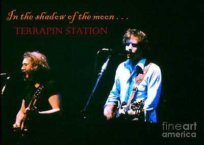 Jerry Garcia Band Photograph - Terrapin Station - Grateful Dead by Susan Carella