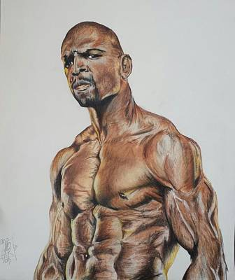 Terry Crews >> Terry Crews Drawing by DMo Herr
