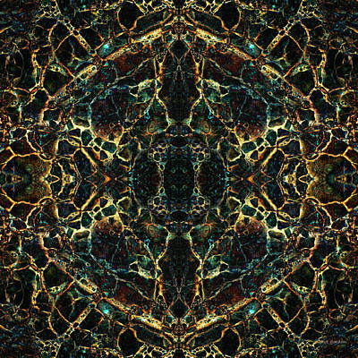 Tessellation Digital Art - Tessellation V by David Gordon