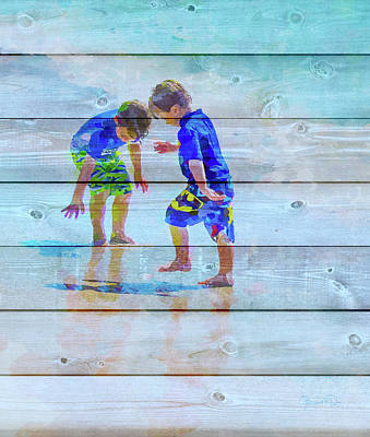A Summer To Remember Ivb Print by Susan Molnar