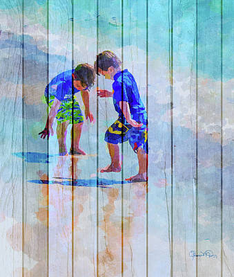A Summer To Remember Ivc Print by Susan Molnar