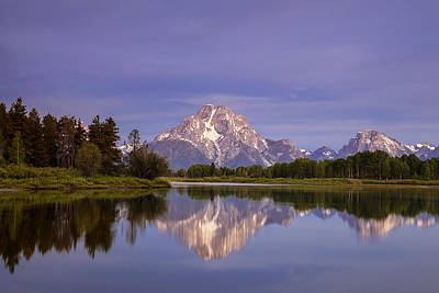 Teton Reflections Print by Andrew Soundarajan