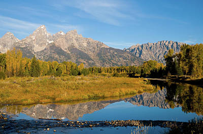 Teton Reflections Print by Steve Stuller