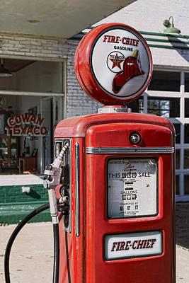 Texaco Fire-chief #1 Print by Stephen Stookey