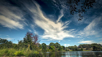 Photograph - Texas Bass Pond by Phil Rispin
