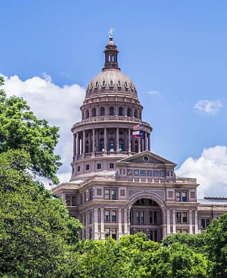 Austin Photograph - Texas Capitol Building by Craig David Morrison