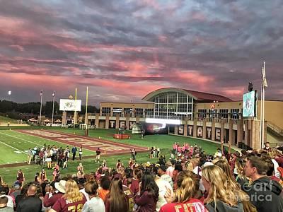 Texas State Football Stadium  Print by Gary Ray