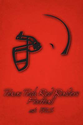 Texas Tech Red Raiders Print by Joe Hamilton