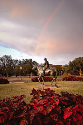 Texas Tech University Print by Ilker Goksen