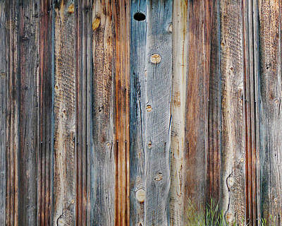 Textures Of An Old Barn Print by Terril Heilman