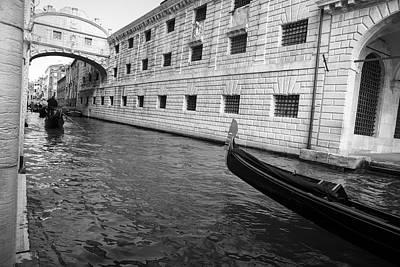 Black And White Photograph - Th Bridge Of Sights  by Yuri Santin