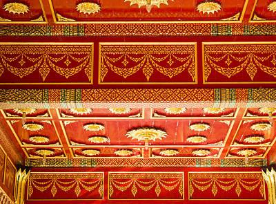 Thai Pavillon - Ohlbrich Gardens - Madison - Wisconsin Print by Steven Ralser