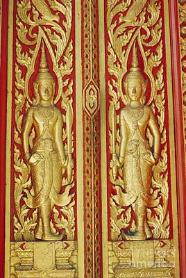 Handcarved Photograph - Thailand, Bangkok by Bill Brennan - Printscapes