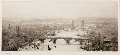 Thames View Print by William Lionel